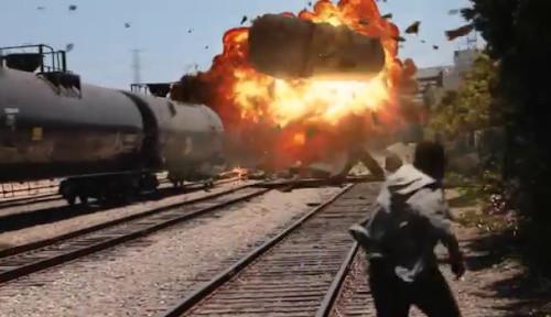 Explosión tren México