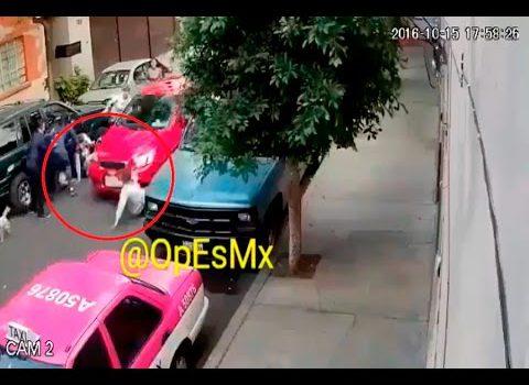 Graban vídeo de un atropello de varias personas en Azcapotzalco