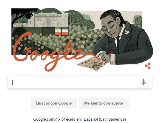 Doodle Gilberto Robles