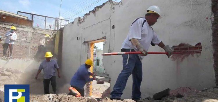 Consecuencias del sismo en el pueblo mexicano del epicentro